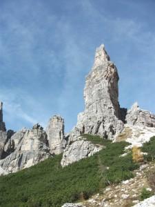 campanile val montanaia dolomiti friulane