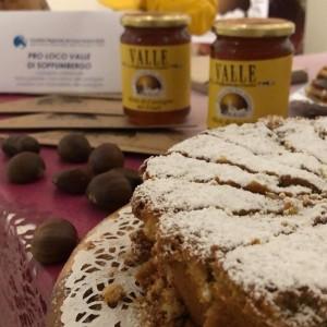 torta castagne miele valle soffumbergo