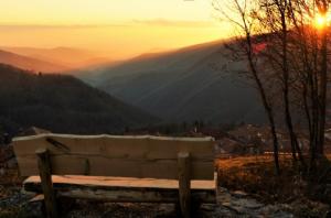 tramonto valli natisone