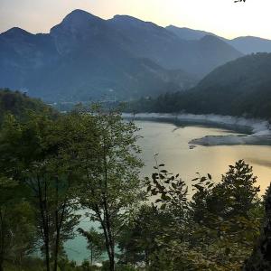 lago tramonti foto davide francescutti