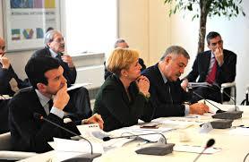 Il ministro per le Politiche Agricole Maurizio Martina e quello dello Sviluppo Economico, Federica Guidi