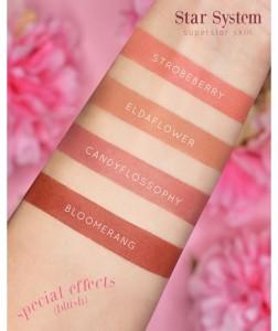 I blush in stick di Neve sono proposti in 4 colorazioni