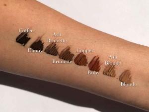 Le 8 tonalità dei Fleeky Brows