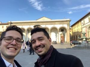 Andrea Grassi e Sandro Bianchi, fondatori di Radici Toscane