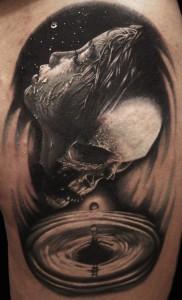 Un'altra opera del Tribal Tattoo Studio firmata da Diego Censori