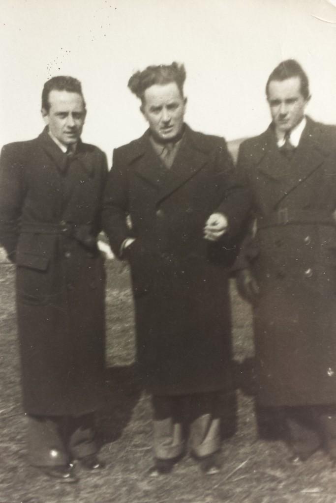 Luigi Consigli e i figli Bruno e Silvio