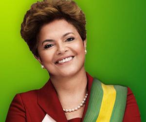 Dilma Roussef, presidente del Brasile