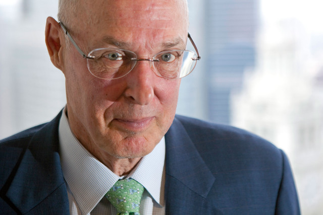 Hank Paulson, ex segretario al tesoro americano