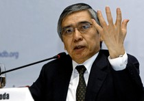 Haruhiko Kuroda, governato della Bank of Japan