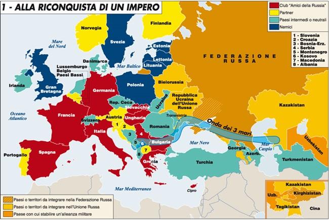 La Cartina Della Russia.Ucraina Putin Alla Riconquista Di Un Impero Mappa Mundi Blog Repubblica It