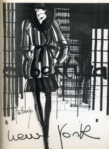 Albertina_Schizzo_di Lattuada 1972-73, archivio Pitti Immagini