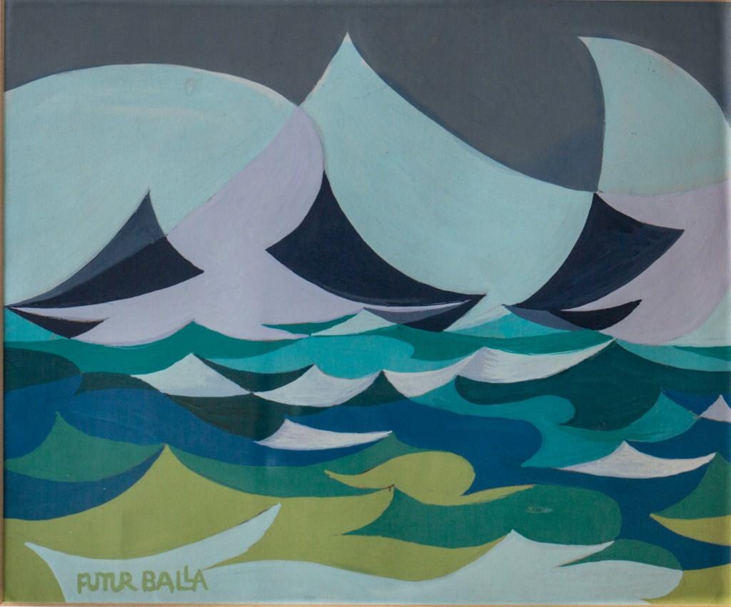 04. Balla, Linee forza di mare 1919