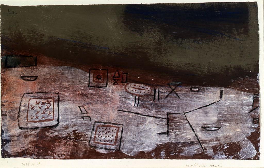09. Klee, Moeblierte Arktis 1935