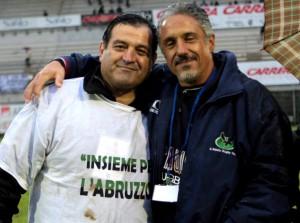 Presutti e Massimo Mascioletti, aquilani doc