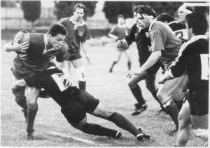 1988: Covi palla in mano in Dogi-Tolosa