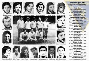 I desaparecidos del La Plata
