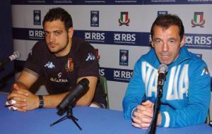 Marco Bortolami e Pierre Berbizier