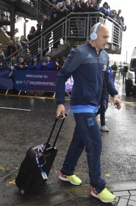 Parisse arriva a Murrayfield