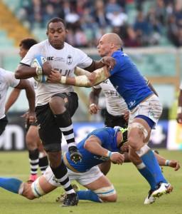 Rugby: Italy vs Fiji