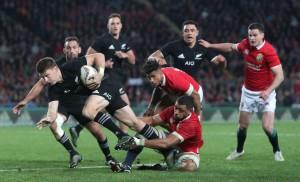 Rugby Test Match, Nuova Zelanda vs British and Irish Lions