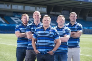 Lo staff dei Blues guidatoda John Mulvihill