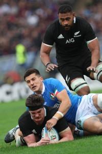 Rugby Italia-Nuova Zelanda
