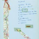 "Pagina da ""Journal pour Anne"" di François Mitterrand (ed. Gallimard)"