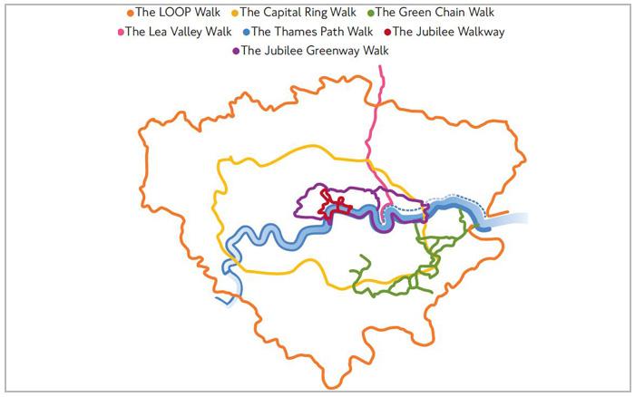 tfl walking-map