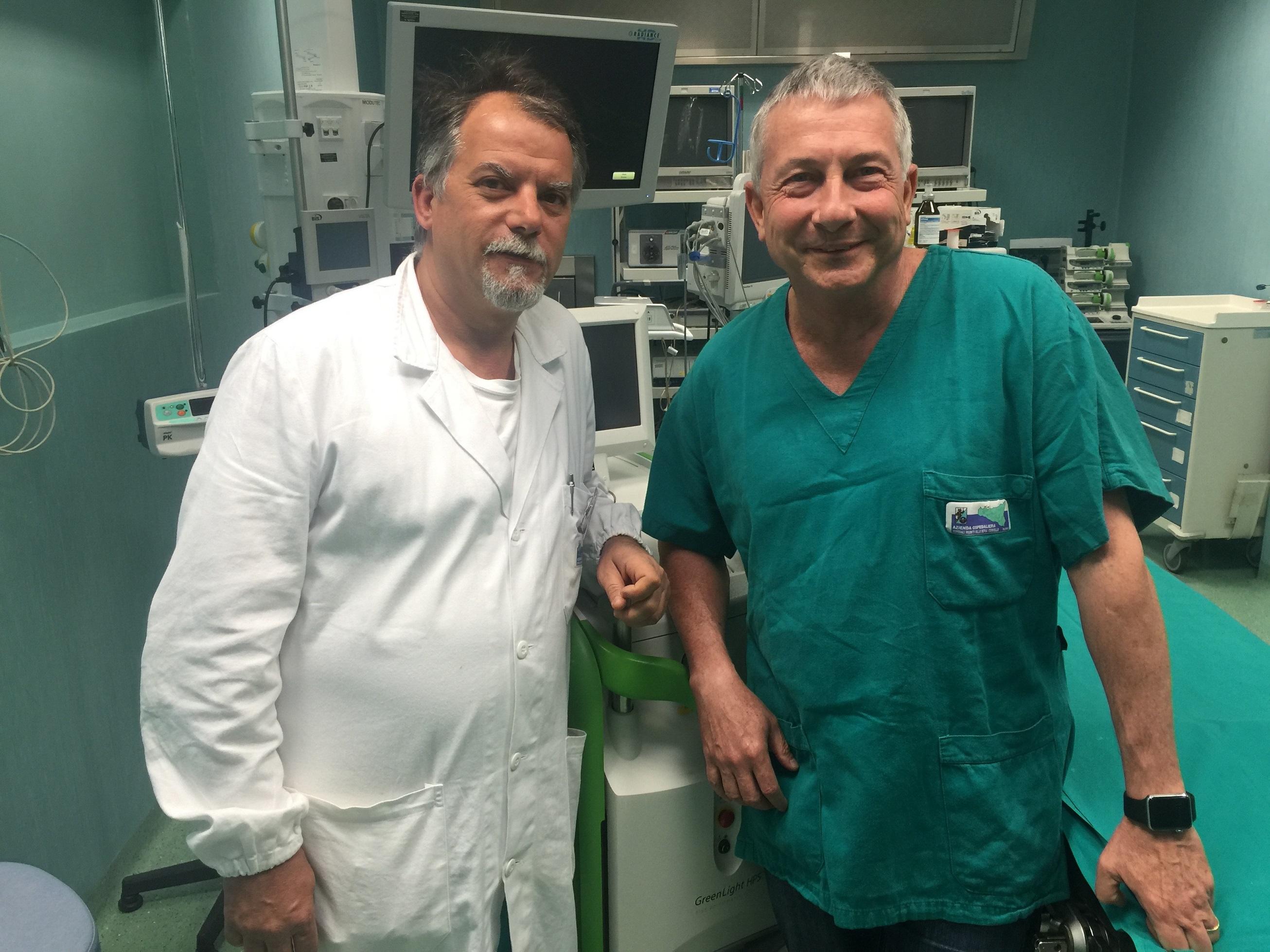 miglior centro per operare prostata con raggio verdes
