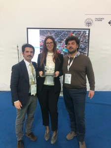 I tre ricercatori palermitani premiati a Torino