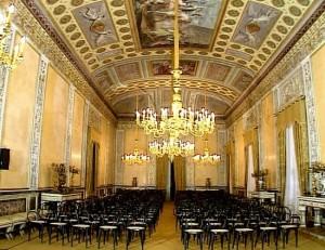 Sala Mattarella a Palazzo dei Normanni
