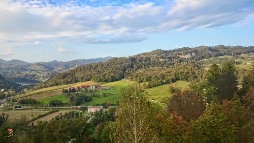 il panorama dall'hotel delle Rimske Terme