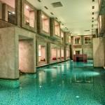 Acqua termale delle piscine