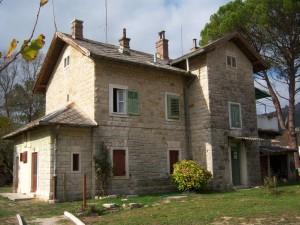 La stazione di Livade, ex Parenzana