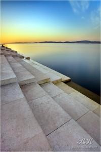 Zara, Organo Marino al tramonto