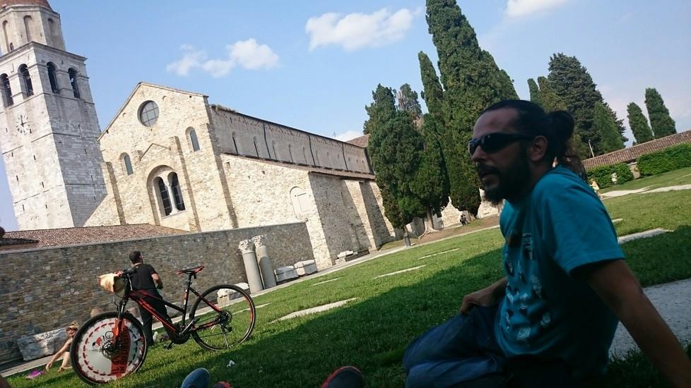 #Giro80 ad Aquileia
