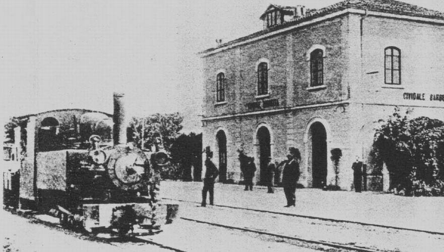Antica stazione di Cividale, foto by Wikipedia