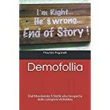 Demofollia, su Amazon.it in copia cartacea oppure ebook