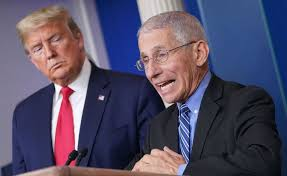 Donald Trump e Anthony Fauci