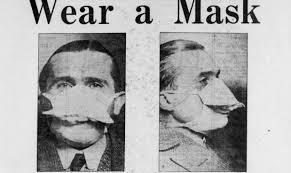 Le mascherine ai tempi della Spagnola
