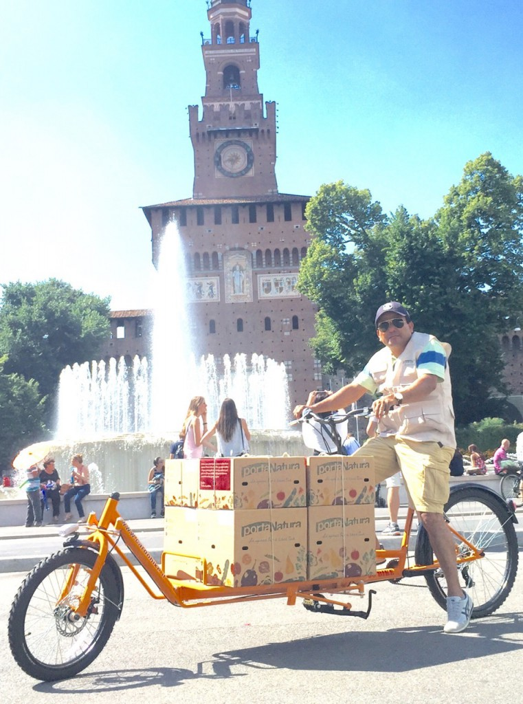 portanatua bici Milano