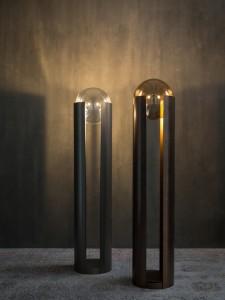 Le lampade della linea Softwing