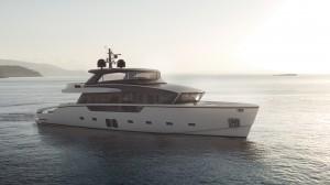 Lo Yacht SX88 di Sanlorenzo