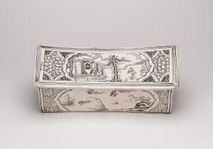 Un cuscino di ceramica della dinastia Jin. XIII secolo. © Trustees of the British Museum