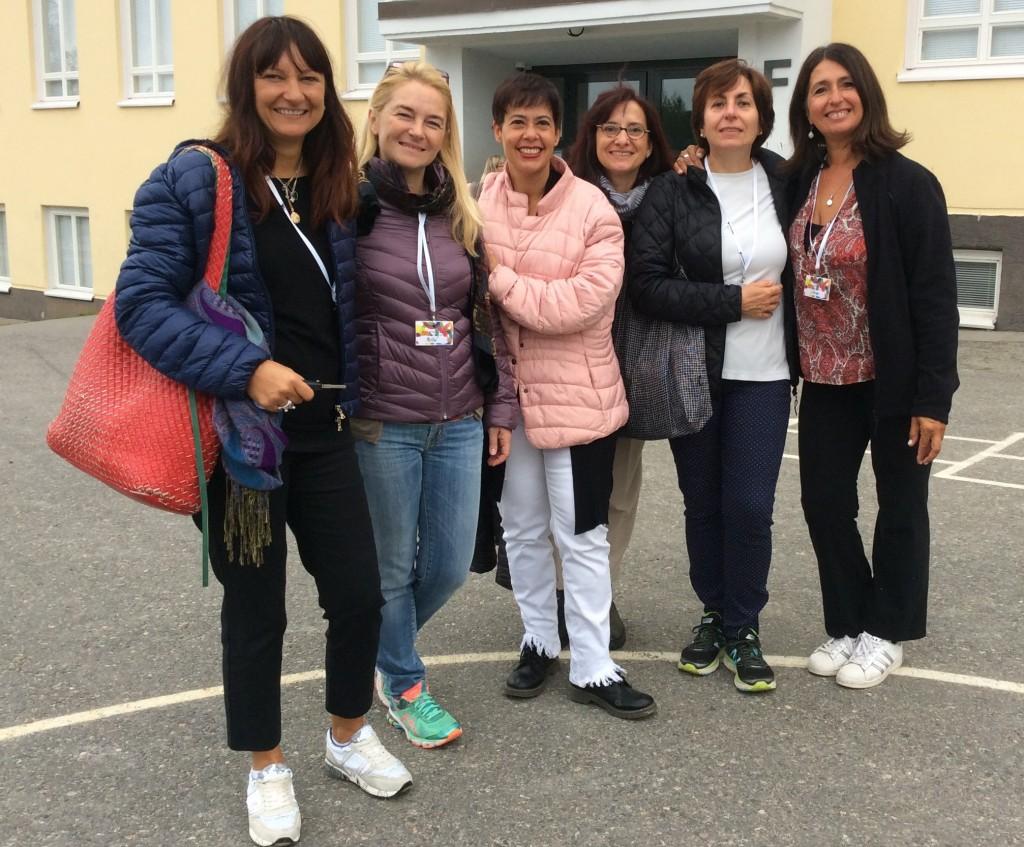 Le docenti partecipanti al progetto Erasmus+