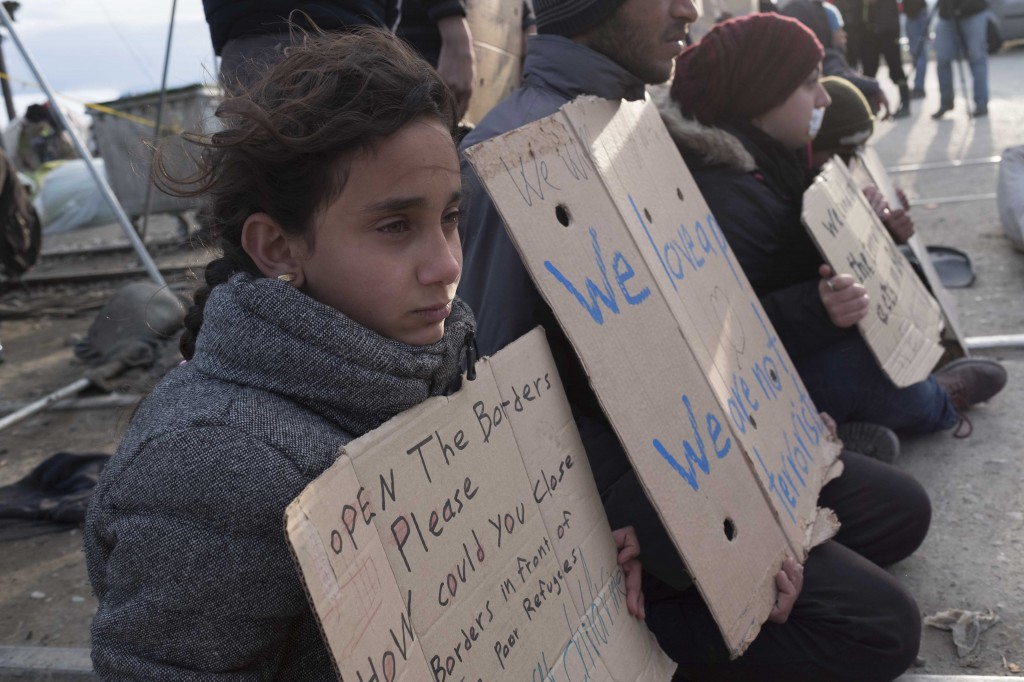 Rifugiati siriani in Grecia