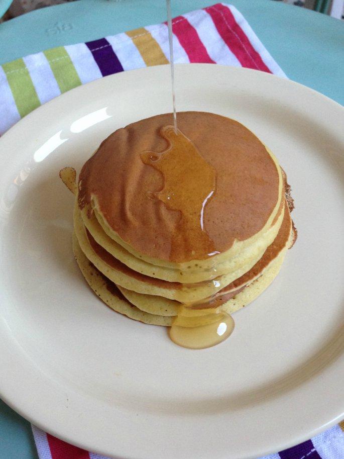 Ricetta Pancake Uova Farina E Latte.Pancakes Senza Latte E Senza Uova Cucina Facile Con Giorgia Blog Repubblica It