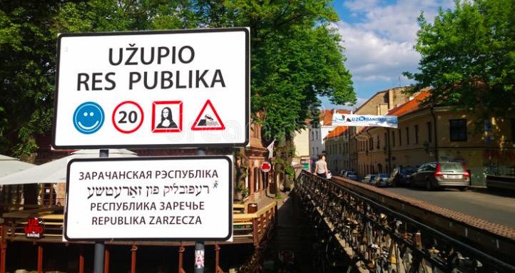 Uzupis Vilnius