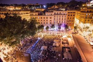 Una serata del festival