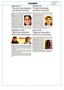 Le storie (la Repubblica 8/03/2016)
